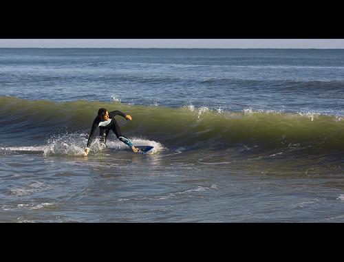 Javi entrando en la ola, Serie 2