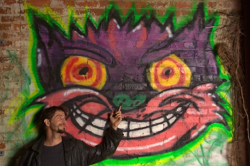 Wes and the Cheshire Cat