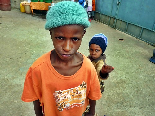 Mikeas and Alizar, Mercy Home, Ethiopia