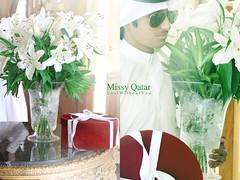 (Missy   Qatar) Tags: flowers man lily bin ali lilies gift missy qatar rashid qatari alkhater