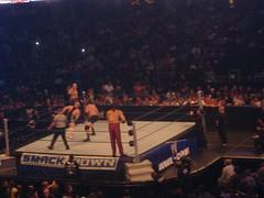 Finlay and Great Khali vs Kane and Mike Knox