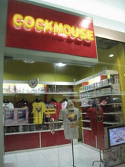 Cockhouse in Manila