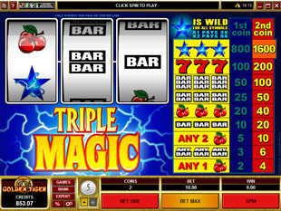 Triple Magic slot game online review