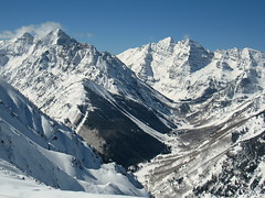 Maroon Creek Valley (MSPeters) Tags: bells highlands colorado pyramid maroon peak bowl highland aspen 14ers fourteeners