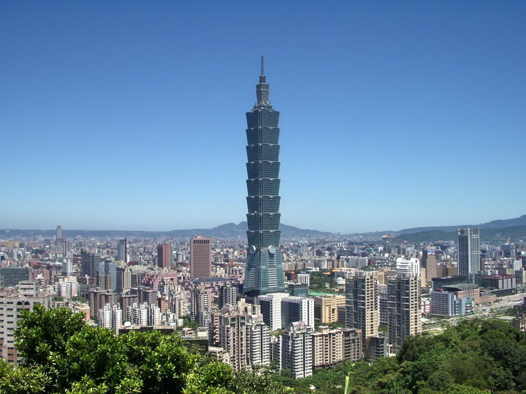 Gratte Ciel Taipei 101 Free Hd Wallpaper 858