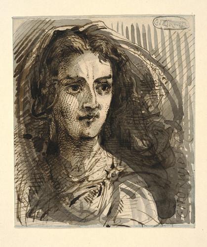 004- Retrato de una joven-Cyprian Kamil Norwid- 1821-1883