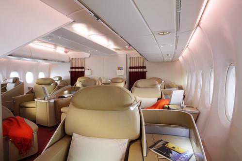 A bord de l'A380 Air France  (6)