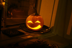 Happy Halloween (eastofnorth) Tags: uk light halloween face digital canon pumpkin jack carved findleastinteresting candle cheshire eastofnorth 30d bollington olantern