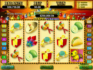 Jackpot Pinatas slot game online review