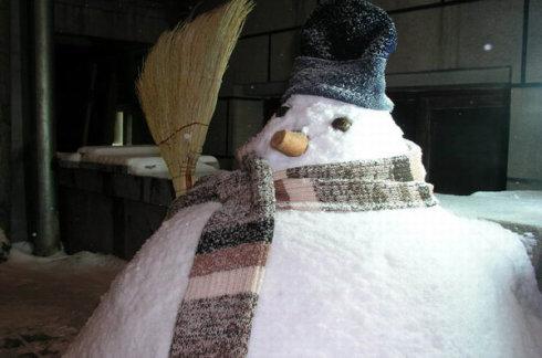 怕冷的雪人