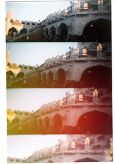 Fridays  (Orangeya) Tags: camera film toy diptych with 4 scanned souq doha qatar lenses wagif soug waqif not orangeya 0rangeya