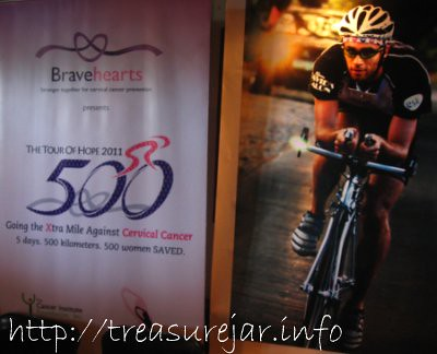 Bravehearts Tour of Hope 2011