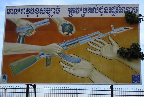 1 Cambodia Hand in your guns