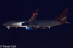 Sunwing | C-GNCH | Boeing 737-81D  | YYZ | Delivery flight (Trevor Carl) Tags: winter canon airplane eos photo inflight aviation transport delivery boeing yyz sunwing torontopearsoninternational 60d alltypesoftransport 73781d cgnch cn39438 ln4816