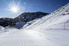 Highway for Skiers (Bergfex_Tirol) Tags: ski oesterreich skipiste skislope nordtirol bergfex northtyrol pistenpräparierung tyrol seasons snow winter austria schnee österreich tirol snowslope sonne fieberbrunn sun