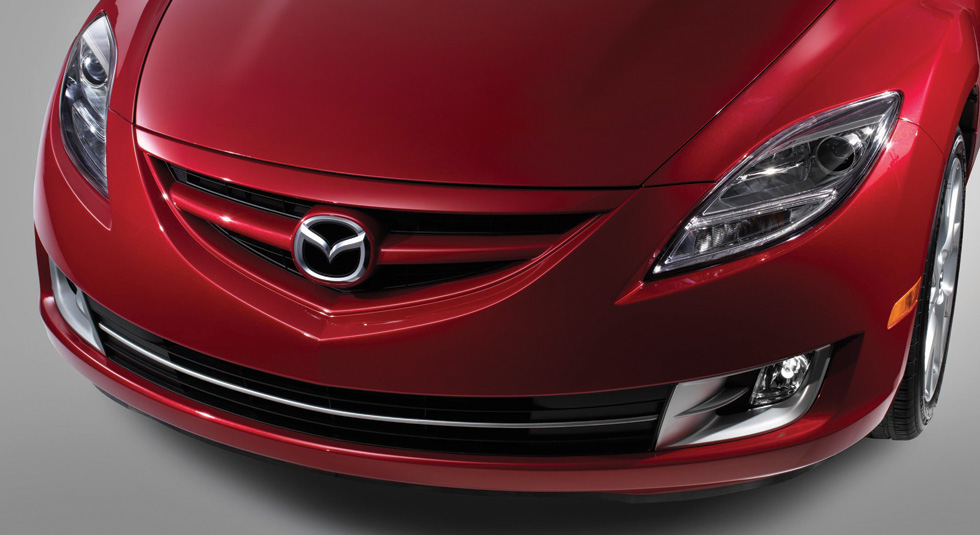 front grille Mazda6 photo