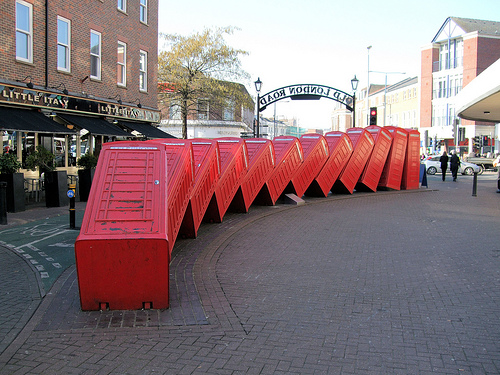 Out of Order, Kingston, London. by Jim Linwood