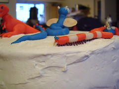 Fussy-pede (plussed) Tags: birthday monster cake marzipan