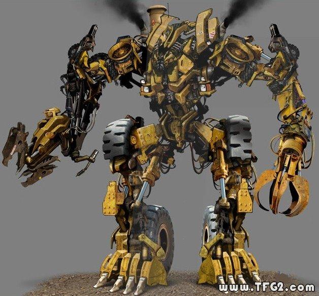 Transformers 2 Scrapper CGI