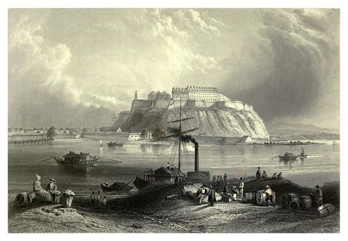032- Fortaleza de Peterwardin en Serbia 1844