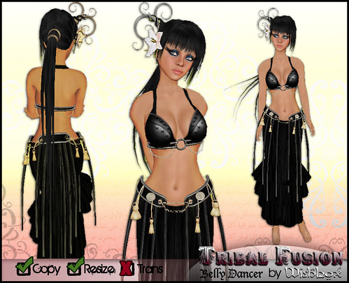 Tribal Fusion (black) by Wishbox