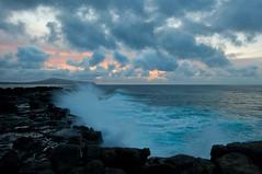 Volcanic Beach (OneEighteen) Tags: rock dawn volcanic easterisland breakingwave rapanui