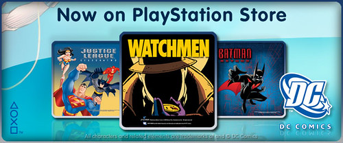 DCComics PlayStation Store Channel