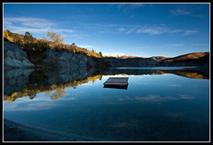 Blue Lake II (Chris Gin) Tags: blue newzealand lake island south filter nz nd otago graduated stbathans singleexposure