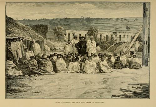016-Pueblo de Ambohiboka-Madagascar finales siglo XIX