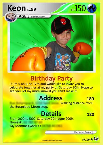 my sons birthday card,