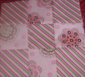 Three by Three Swap StripPink