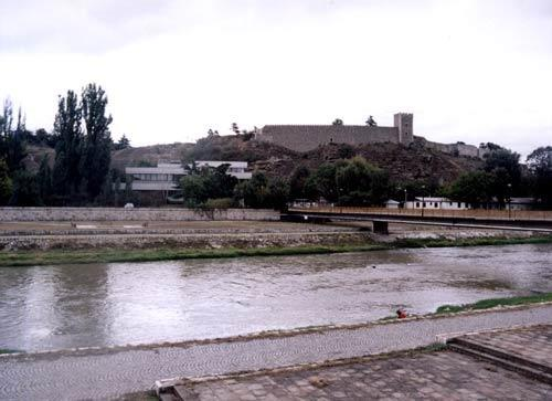 Fotografia do Castelo de Skopje, Macedónia