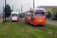 Meet at the Museum (streetcarbrad) Tags: kenosha 4615 4609