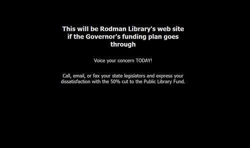 Rodman Public Library, Ohio