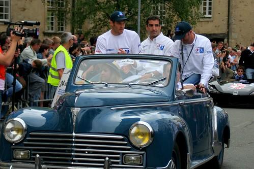 Marc Gene, David Brabham & Alexander Wurz
