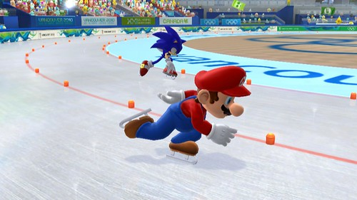 Wii Speedskating