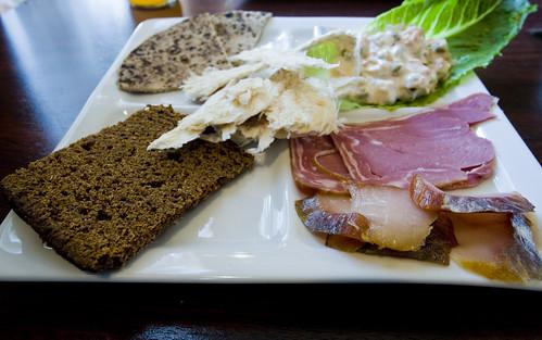 cafe riis Icelandic open sandwich platter