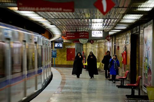 Tehran underground
