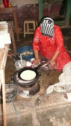 Chapati in Zanzibar