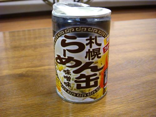 札幌ラーメン缶 味噌味