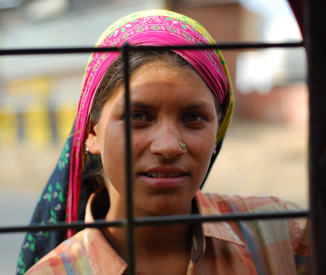 Girl in Jaipur