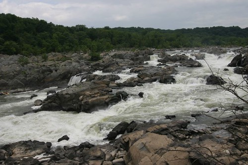 The Great Falls, just 15 miles outside of central D.C.
