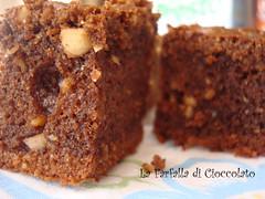 Dolcetti cioccolato e nocciole-Primo piano