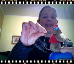 Ratinho Alfineteiro (Feltro em Casa by Mal) Tags: mouse pincushion ratinho alfineteiro