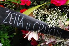 WIB Srebrenica solidarity flowers