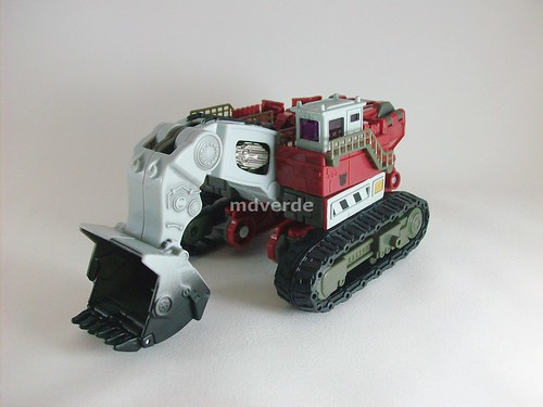 Transformers Demolishor RotF Voyager - modo alterno