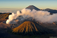 Mt. Bromo (Burrard-Lucas Wildlife Photography) Tags: sunrise indonesia volcano java mt smoke steam crater volcanoes bromo