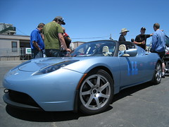 Electric Sports Cars @ Laguna Seca