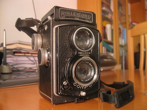 Rolleicord IIb Madrid Lavapies