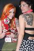 1ª Tattoo Girls Convention Vencedora Preto e